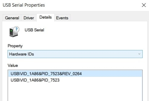 Hardware IDs