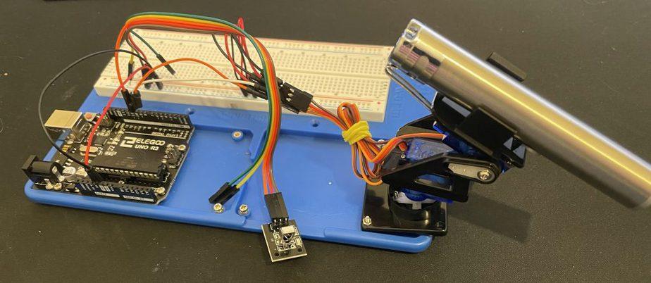 Arduino Laser Cat Toy